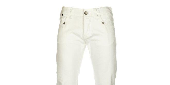 d3216f86eb3 Pánské bílé džíny Tommy Hilfiger