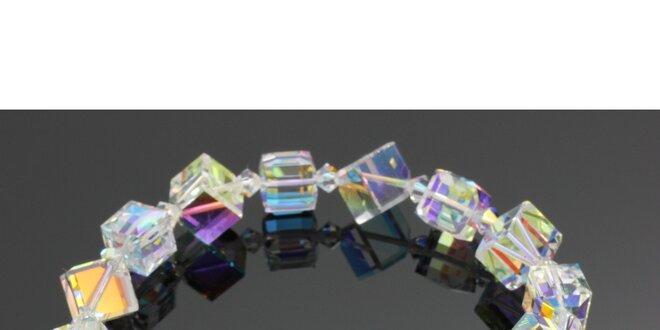 Dámský barevný krystalový náramek Swarovski