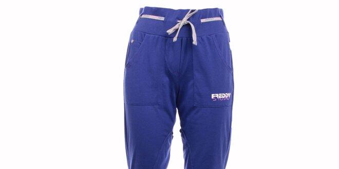 5eccfe4b816 Dámské modré sportovní kalhoty Freddy