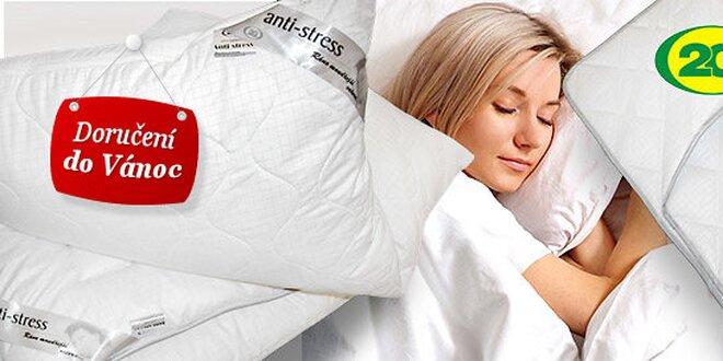 Výprodej celoročních ložních souprav a podložek Anti Stress