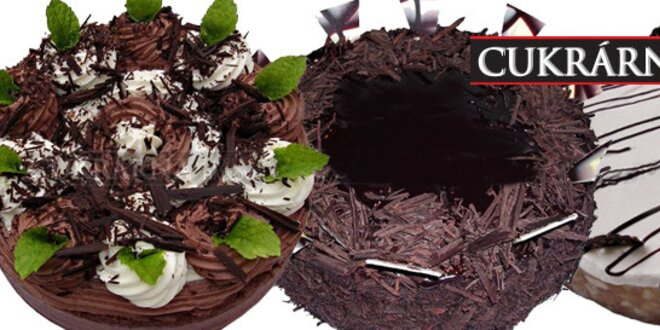 Báječné dorty z poctivých surovin