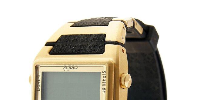 4429bc217 Zlaté digitální retro hodinky Oxbow   Slevomat.cz