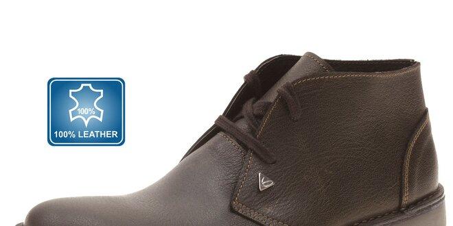 4e3fef4b2 Pánské tmavě hnědé kožené boty Beppi | Slevomat.cz