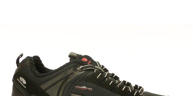 Pánské černé trekové boty Numero Uno  5b1f65e2c3