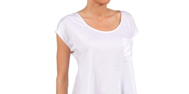 a77314079c5 Dámské volné bílé tričko Womens Secret