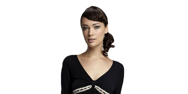 Dámské černé spací triko Les Affaires