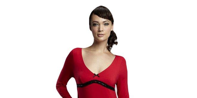 Dámská červená noční košile Les Affaires