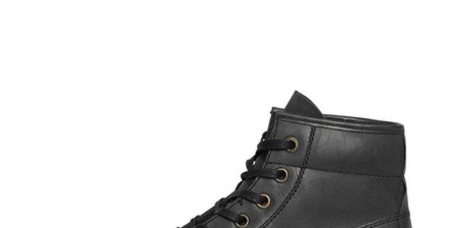 Pánské černé vysoké boty Buggy