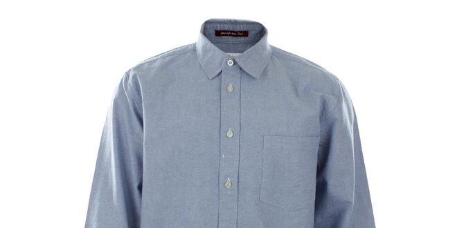Pánská světle modrá košile Big Star
