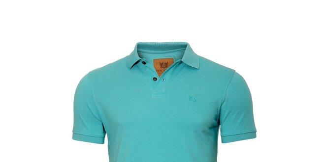 Pánské polo tričko značky Bendorff v tyrkysové barvě
