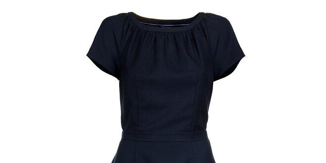 Dámské tmavě modré šaty Tommy Hilfiger  03738b81ba