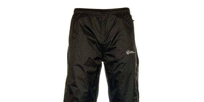 Pánské černé šusťákové kalhoty Loap  3afe270d3d