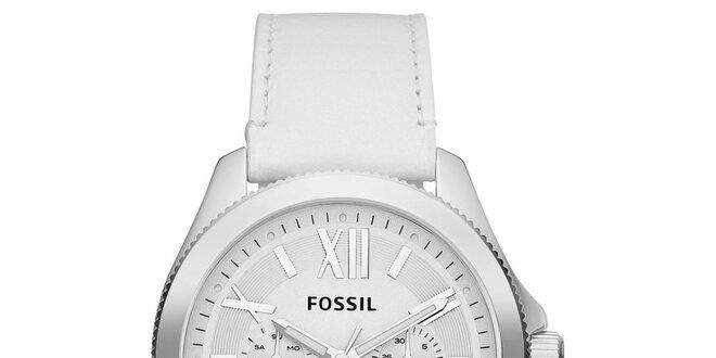 04f9fbd79a8 Dámské bílé analogové hodinky Fossil