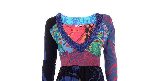 92f94030b0a9 Dámské balonové šaty s japonským motivem DY Dislay Design