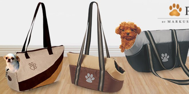 Tašky na přenos psů i skládací misky