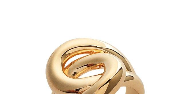 Dámský masivní proplétaný prsten La Mimossa