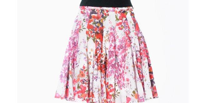1a055987ac70 Dámská květovaná sukně se sklady Smash