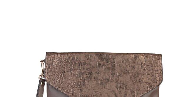 Dámské bronzové psaníčko Sisley