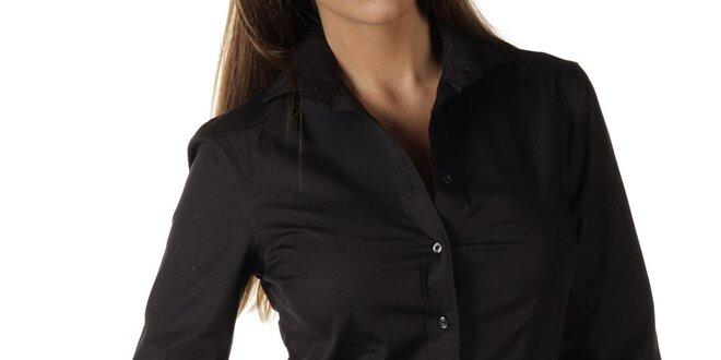 5eebdce4896 Dámská černá košile s dlouhým rukávem Replay