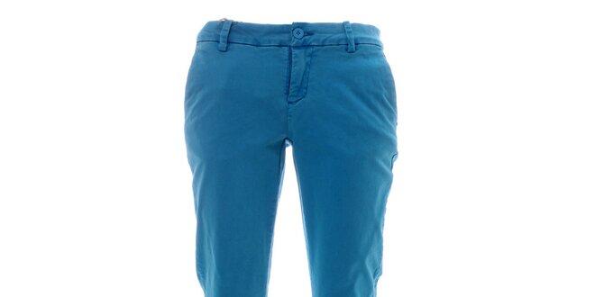 Dámské azurově modré kalhoty Lee Cooper