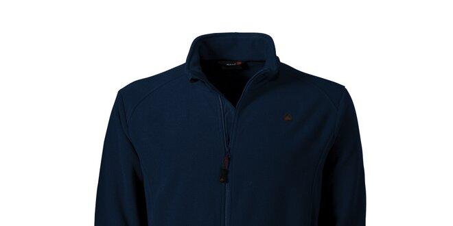 Pánská tmavě modrá fleecová mikina Maier