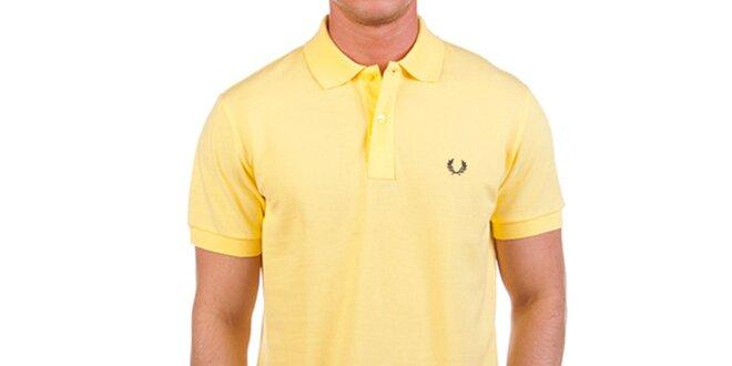bbce9cb6f0b6 Pánské žluté polo triko Fred Perry