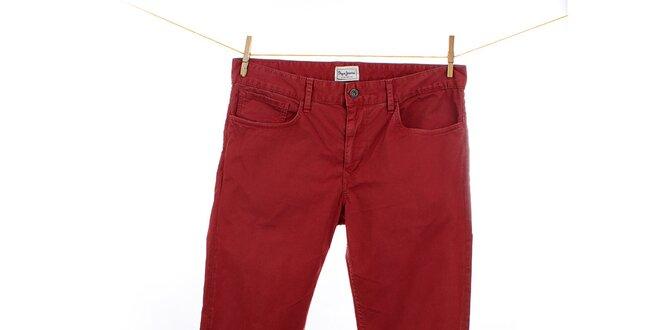 Pánské červené džíny Pepe Jeans  cb80ee0182
