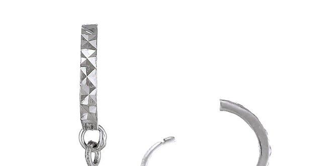 Náušnice Orchira s bílou perlou