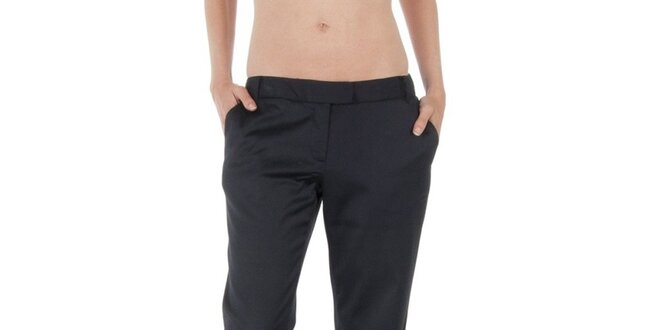 Dámské černé kalhoty Tommy Hilfiger  5c2246e1c6