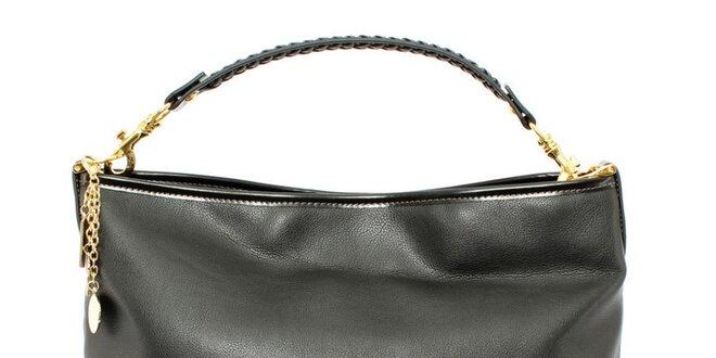 Dámská černá kabelka s jedním uchem Beverly Hills Polo Club