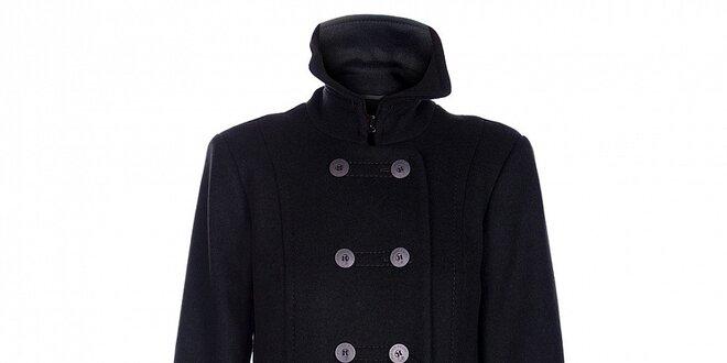 Dámský tmavě zelený zimní kabát Pietro Filipi  a6e2c6d890