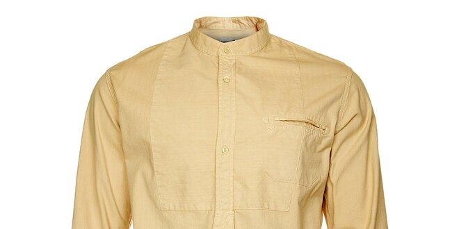 Pánská písková košile Freesoul