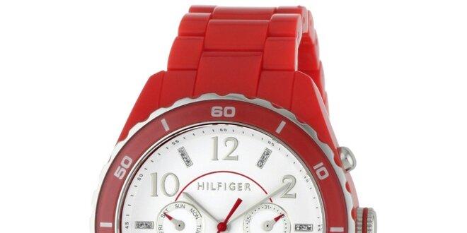 7b89d9a49 Dámské červené náramkové hodinky Tommy Hilfiger | Slevomat.cz