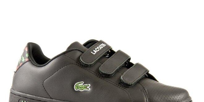 6fb9c6cf71b Dámské černé tenisky Lacoste Camden Mini Croc