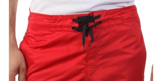 e6ea64f2acd Pánské červené šortky Frank Ferry
