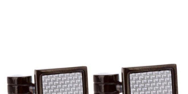 Pánské čtvercové manžetové knoflíčky Marsanpiel