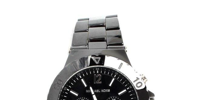 Pánské černé hodinky Michael Kors  e92932dec3