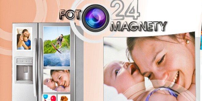 Fotomagnety s vašimi fotkami v různých formátech