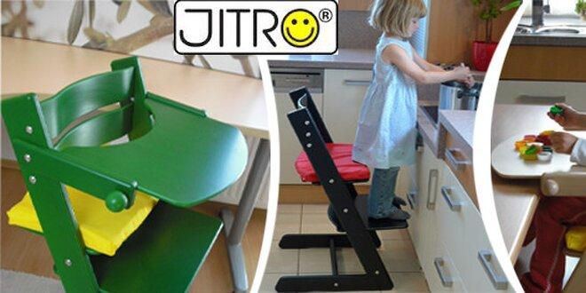 Rostoucí židle s pultíkem pro děti