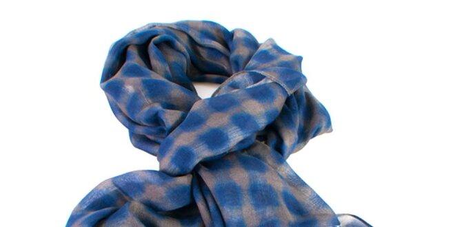 Dámský modro-šedý šátek Gianfranco Ferré