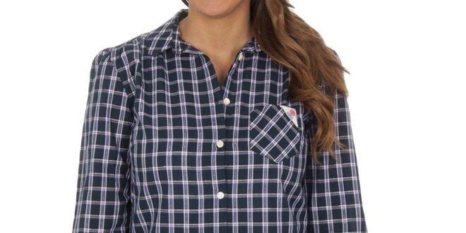 Dámská námořnická kostkovaná košile s kapsičkou Franklin & Marshall