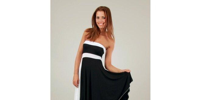 Dámské černo-bílé šaty ve stylu 50. let Ginger Ale  1047f0d5d0