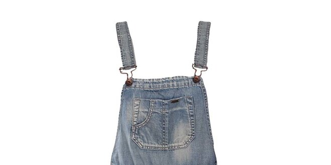 Dámské modré džínové kraťasy s laclem Gas  188bc563f4d