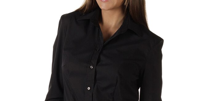 Dámská černá košile s logem Replay c2f908b28c