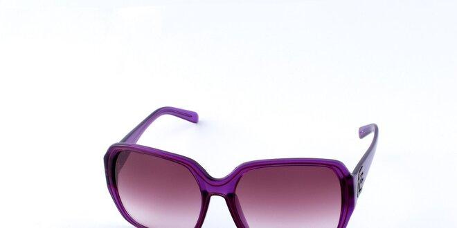 Dámské sytě fialové sluneční brýle Guess