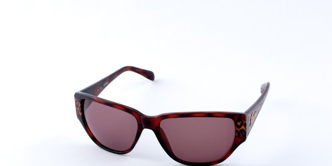 Dámské želvovinové sluneční brýle Guess s leopardími detaily