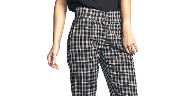 Dámské kostkované kalhoty Liquorish  2ab0ea0def