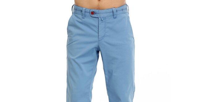 Pánské modré plátěné kalhoty Galvanni  f04653b02c