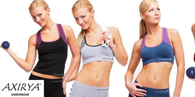 Sportovní fitness dámské komplety z funkčních materiálů  b81b463306