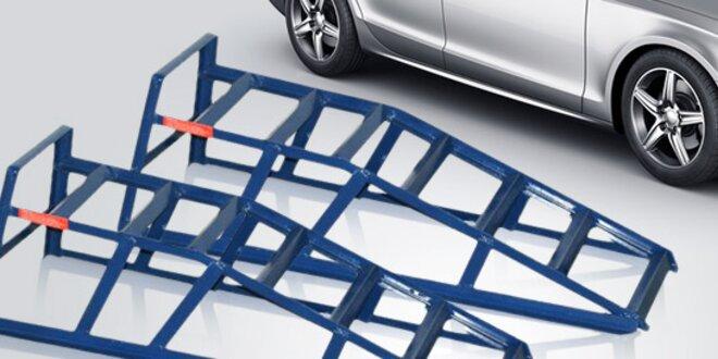 2 stabilní nájezdové rampy na auto